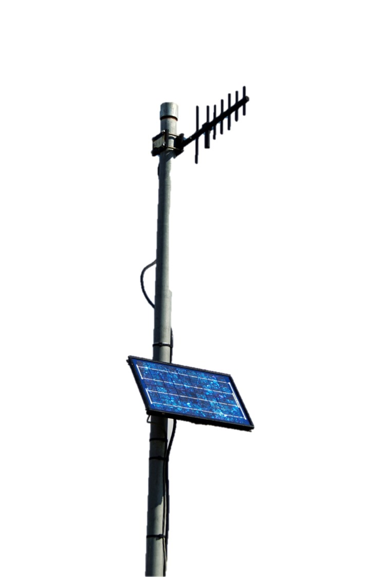 Solar Wireless Radio